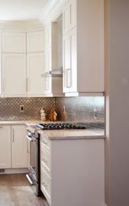 white clean kitchen
